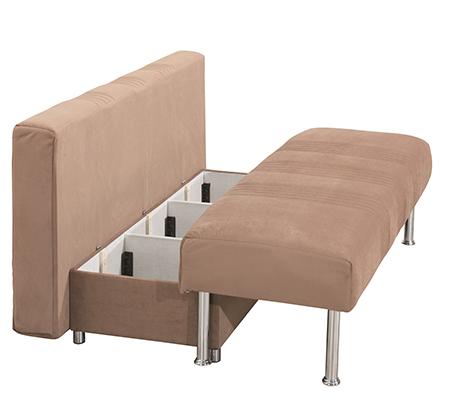 ספת על-קל מפנקת עם מיטת חבר וארגז מצעים דגם פאמיר LEONARDO - תמונה 4