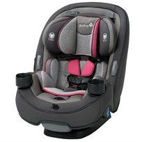 כסא בטיחות משולב בוסטר 3 ב 1 Grow & Go - אפור/ורוד