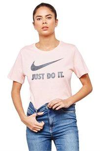 חולצת טי שירט לנשים - ורוד