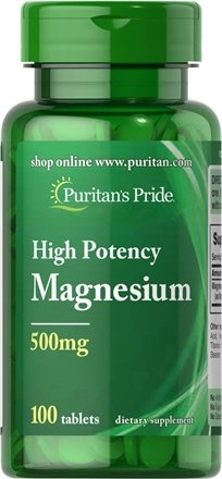Puritan's Magnesium 500 Mg