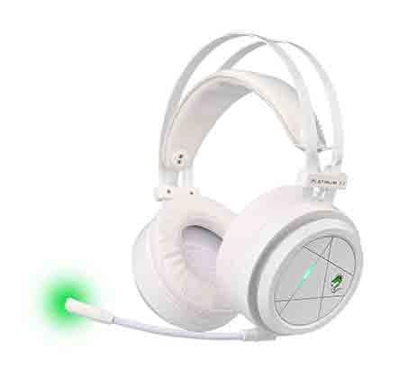 אוזניות גיימיינג multi gaming headset PLATINUM דגם GPDRA-PLATWH