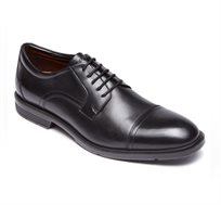נעלי גברים אלגנטיות איכותיות ונוחות Rockport דגם  CS Cap Toe Black