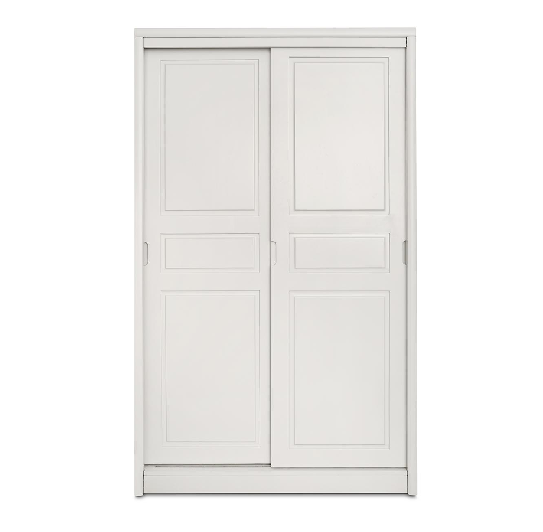 ארון הזזה 2 דלתות מעץ מלא דגם יהלי