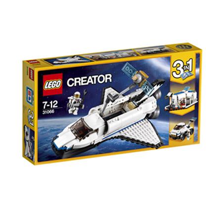 לגו חלל קריאטור - משחק לילדים 285 חלקים