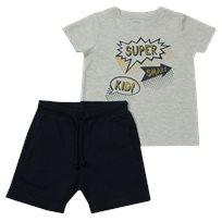 Minene חליפת גן (2-7 שנים) - Super אפור