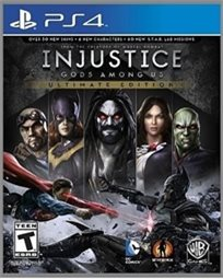 Playstation 4 Injustice Gods Among Us אירופאי!
