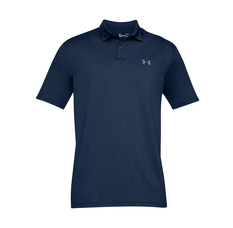 חולצת פולו לגברים Under Armour SS19 Performance Polo 2.0 - כחול
