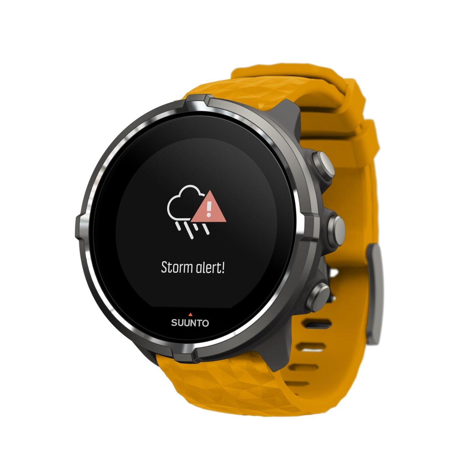 שעון כושר עם דופק מובנה דגם Suunto Spartan Baro