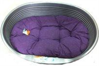 מיטה לכלב פרפלסט 12 פלסטיק+מזרן.