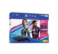 קונסולה פלייסטיישן 4 דגם SLIM בנפח 1TB כולל FIFA 19 DELUXE