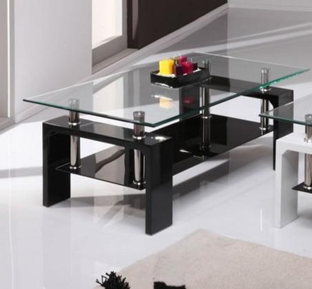 שולחן סלון מזכוכית GAROX דגם MILANO