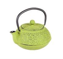קומקום תה יפני Spring מעוצב יציקת ברזל בשילוב אמייל GURO במגוון צבעים לבחירה