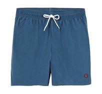 שורט בגד ים עם חגורת גומי Timberland לגברים בצבע ג'ינס