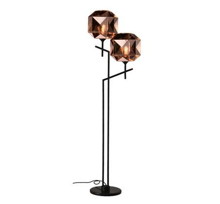 מנורת עמידה מעוצבת בסגנון מודרני דגם קנדל קופר 2