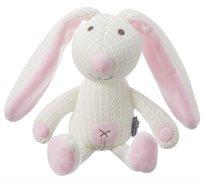 בובת חיבוק מבד נושם ואוורירי - בטי הארנבת