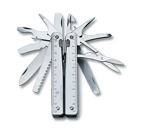 אולר קומפקטי Victorinox Tool X לשימוש רב תכליתי
