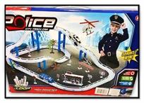 מסלול מכוניות מירוץ משטרה