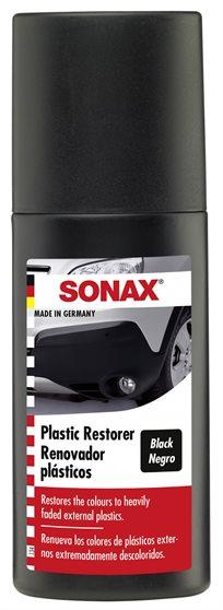 מחדש פלסטיק עם צבע שחור Sonax