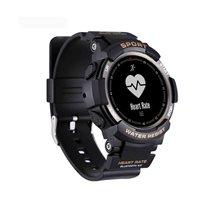 שעון ספורט משולב וחכם אטום למים עם מד דופק ומד צעדים מתחבר בקלות לסמארטפון באמצעות Bluetooth