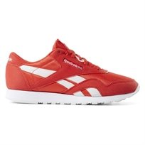 Reebok נשים // Cl Nylon Red/White