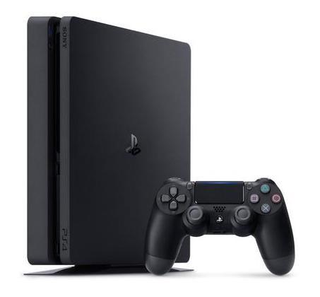 קונסולה Playstation 4 דגם SLIM בנפח 500GB צבע שחור – יבואן רשמי