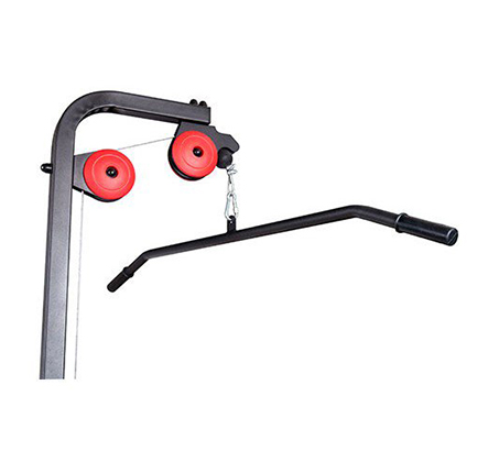 מתקן פולי עליון + פולי תחתון + חתירה מקובע לקיר Marbo sport - תמונה 4