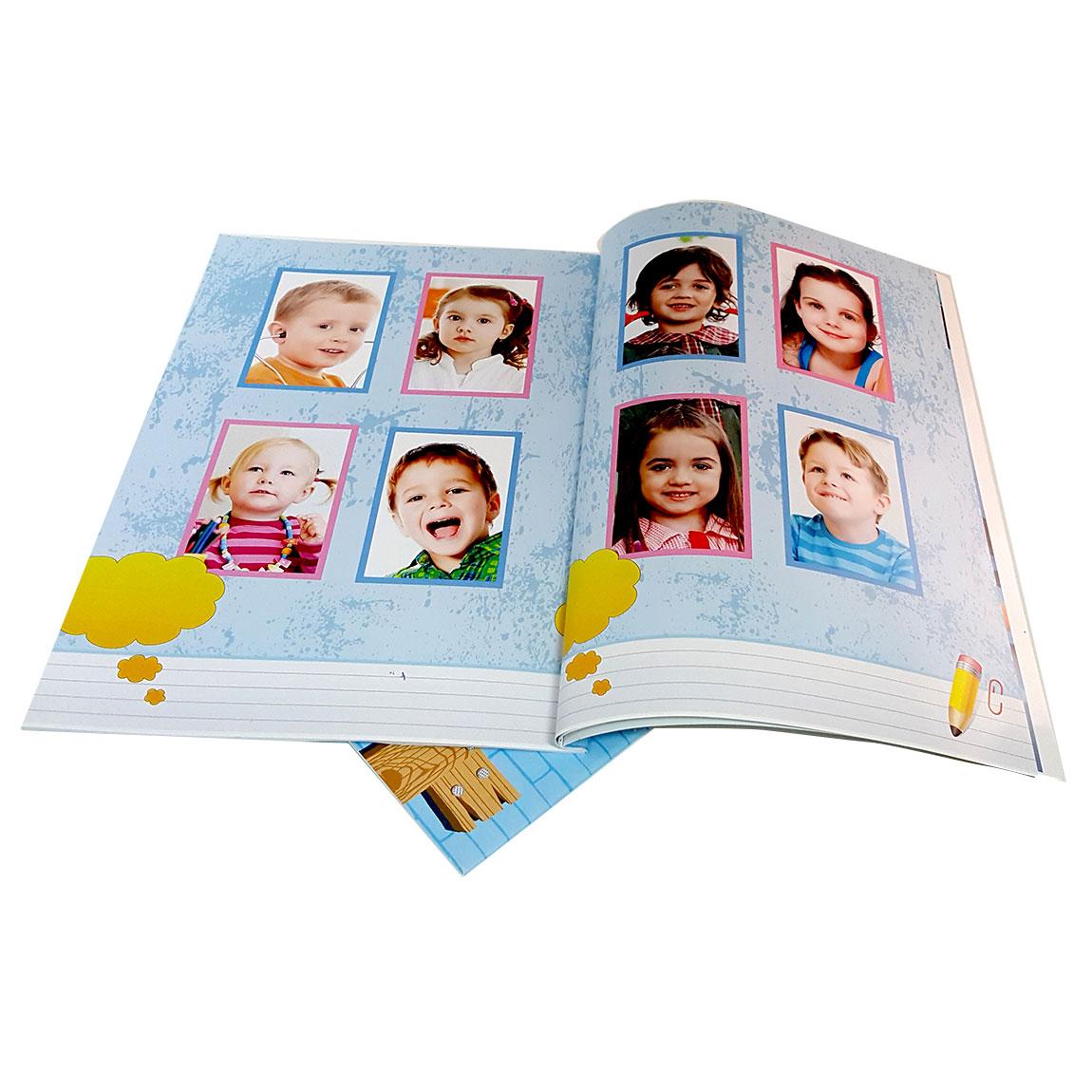 מסכמים שנה נהדרת בגן! אלבום סוף שנה A-4 אנכי בכריכה רכה 24 עמודים - תמונה 3