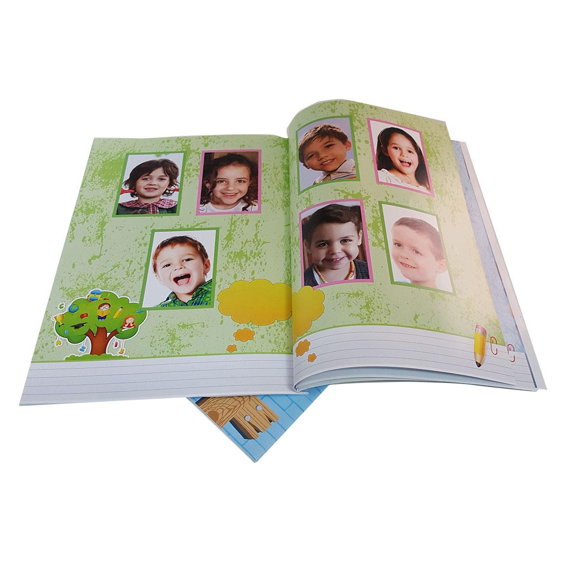 מסכמים שנה נהדרת בגן! אלבום סוף שנה A-4 אנכי בכריכה רכה 24 עמודים - תמונה 4
