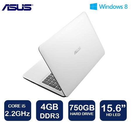 """מחשב נייד עם מסך """"15.6 מבית ASUS דגם X555LJ-XX428H"""