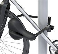 כיסא לאופניים המשלב מנעול איכותי וחזק באורך מטר SEATYLOCK