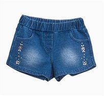 מכנסי ג'ינס לתינוקות וילדות בצבע Medium Wash