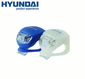 זוג פנסי בטיחות LED נתלים ומהבהבים לאופניים מבית HYUNDAI