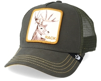 כובע מצחייה יוניסקס - Goorin Rack Olive