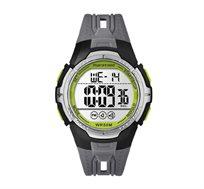 שעון יד דיגיטלי צבעוני לגברים עם סטופר ושני איזורי זמן