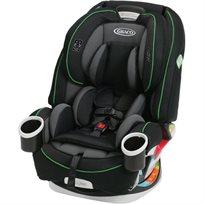 כיסא בטיחות משולב בוסטר 4 ב 1 4Ever - שחור/פס ירוק