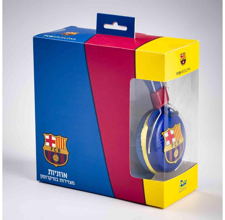 אוזניות קשת ברצלונה עם מיקרופון - תמונה 2