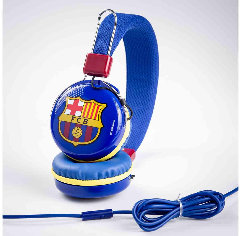 אוזניות קשת ברצלונה עם מיקרופון
