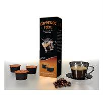 מארז של 100 קפסולות אספרסו איכותי מתאימות לשימוש במכונות מתוצרת CAFFITALY - משלוח חינם