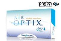 עדשות המגע האיכותיות מבית CIBA VISION - עדשות חודשיות AIR OPTIX AQUA עם תוספת לחות ב-₪135 בלבד!