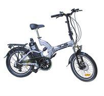 אופניים חשמליים מתקפלים דגם TS-SPORT, עם שיכוך מלא ולוח בקרה כולל חבילת אבזור מתנה והתקנה חינם! משלוח חינם!