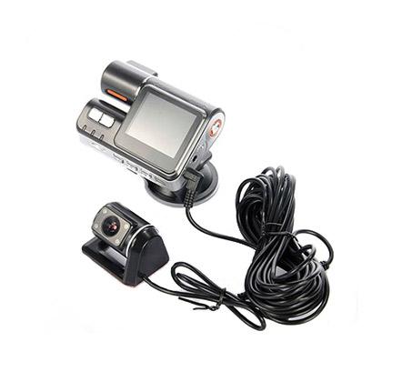 מצלמת רכב משולבת עם צג ו-2 מצלמות קדמית ואחורית לצילום הדרך וצילום התנועה מאחור ובזמן ורוורס - משלוח חינם - תמונה 2