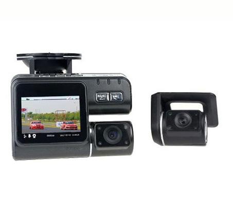מצלמת רכב משולבת עם צג ו-2 מצלמות קדמית ואחורית לצילום הדרך וצילום התנועה מאחור ובזמן ורוורס - משלוח חינם - תמונה 3