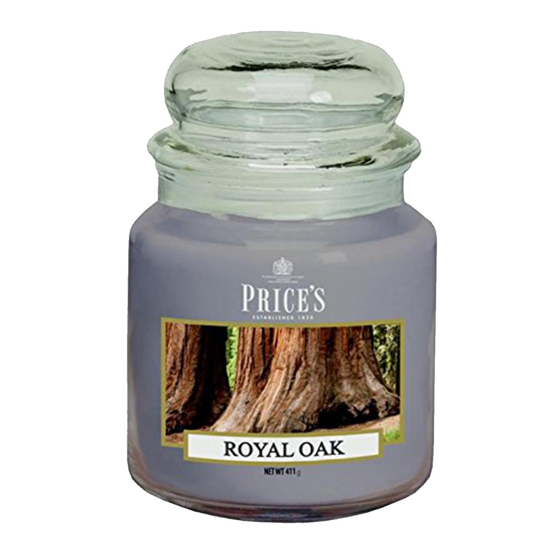 נר ריחני בניחוח Royal Oak בגדלים לבחירה