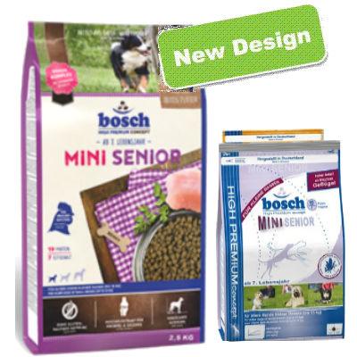 מזון לכלב זקן בוש סניור מיני לכלב קטן 2.5 ק''ג Bosch