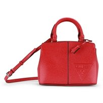 GUESS נשים // INSPIRE SMALL SATCHEL RED
