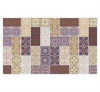 שטיח דק ומעוצב עשוי 2 שכבות במגוון דוגמאות לבחירה