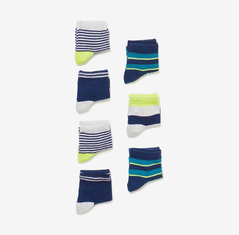מארז 7 זוגות גרביים OVS קצרים לילדים