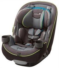כסא בטיחות משולב בוסטר 3 ב 1 Grow & Go - אפור/פס צהוב