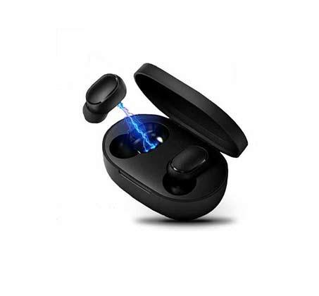 אוזניות בלוטות אלחוטיות נטענות TWS מובנה וערכת הטענה מהירה