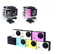 מצלמת אקסטרים באיכות 1080P כולל סוללת ליתיום נטענת, מארז מוגן מים, ו-19 חלקים לחיבור, הרכבה וניקוי